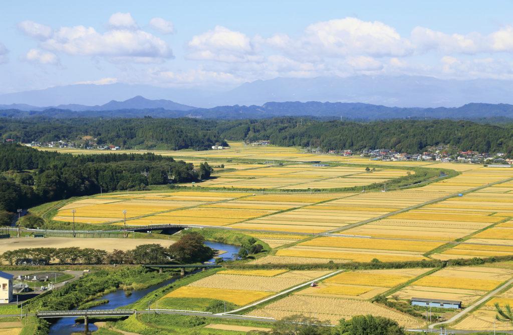 浅川町風景