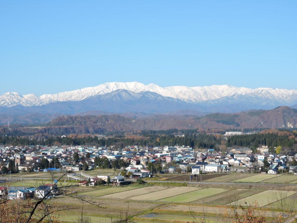 西会津町の風景